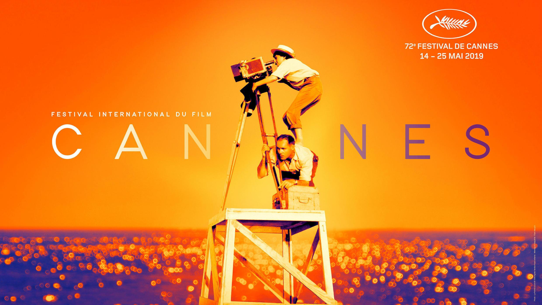El cartel oficial del 72 Festival Internacional de Cine de Cannes publicado por la organización del Festival de Cine de Cannes, París, Francia, 15 de abril de 2019.