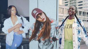 Shay, Chilla et Sianna : trois exemples de rap au féminin en France.