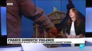 2019-10-29 13:38 French domestic violence - Marion Dusquesne, spokesperson Les Effrontées.