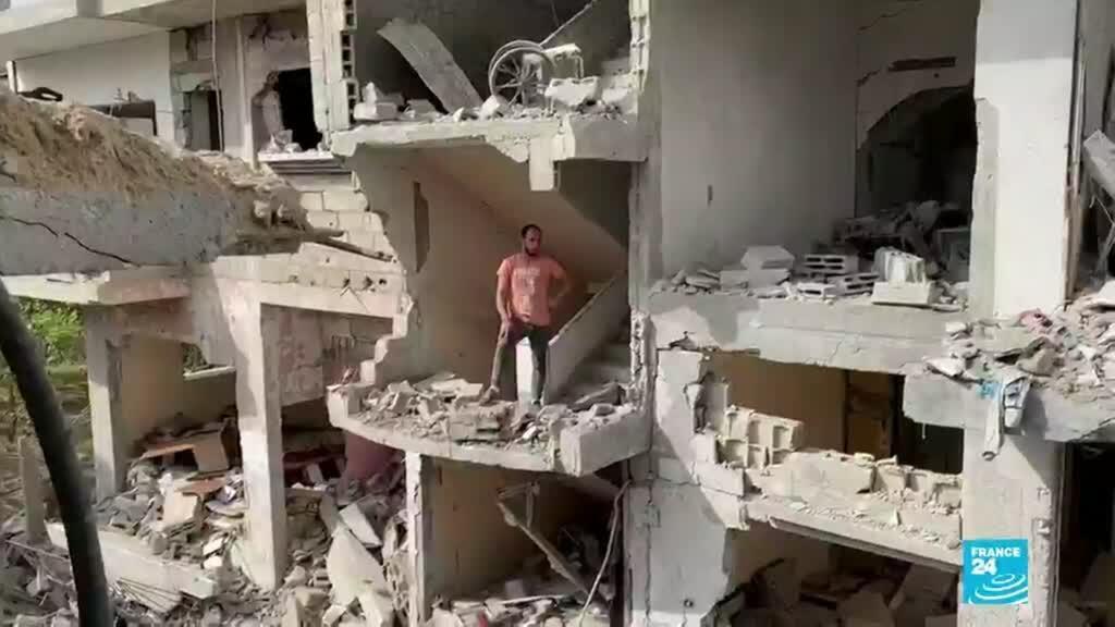 2021-05-22 14:31 Gaza: el desafío de reconstruir la ciudad en medio de un inestable alto el fuego