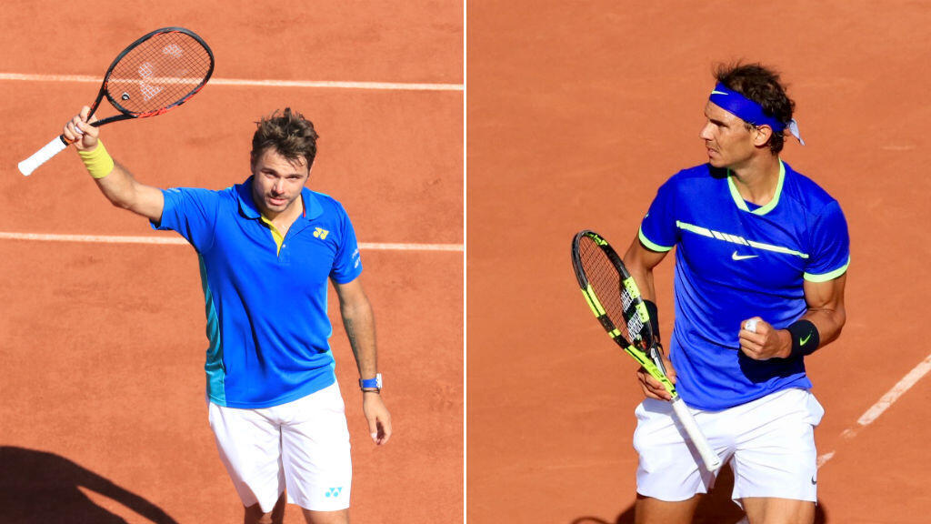 Rafael Nadal n'a fait qu'une bouchée de Dominic Thiem et rejoint Stan Wawrinka en finale.