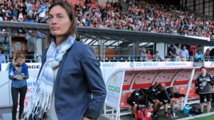 Corinne Diacre entraînait Clermont en Ligue 2 depuis trois saisons.