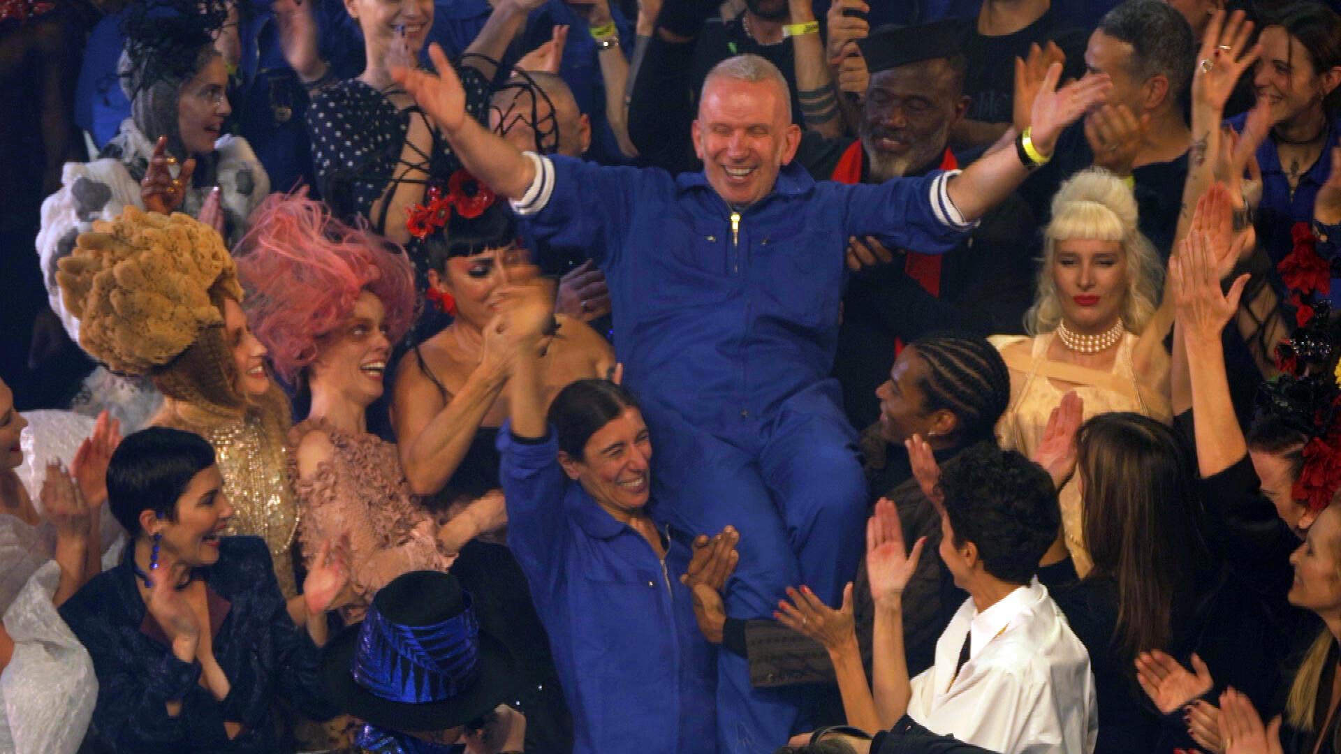 Jean-Paul Gaultier's final catwalk show.