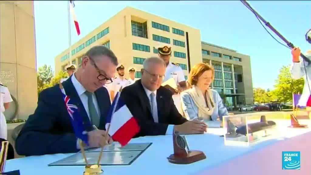 2021-09-16 10:03 Etats-Unis, Australie et Royaume-Uni scellent un vaste pacte de sécurité