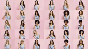Les candidates à l'élection Miss France 2019.