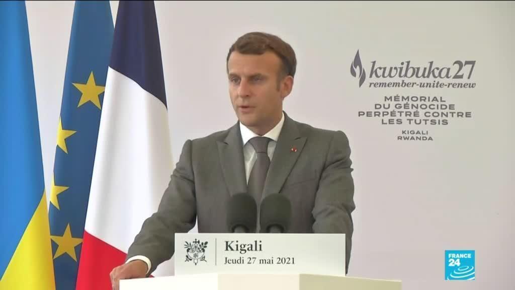 2021-05-27 16:01 In landmark Rwanda visit, Macron acknowledges French part in genocide