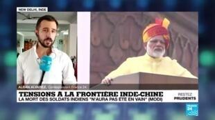 2020-06-17 14:16 En Inde, Modi mis sous pression après l'accrochage à la frontière chinoise