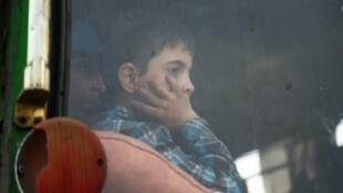 طفل في دوما، 2018