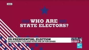 2020-11-03 20:06 US Presidential election: 583 Electoral College votes are up for grabs