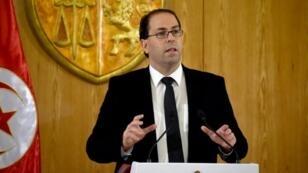 رئيس الحكومة التونسية يوسف الشاهد.