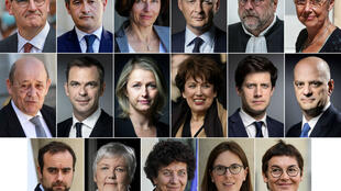 Some top posts remained unchanged, with Bruno Le Maire staying onas economy minister, Jean-Yves Le Drian as foreign minister andOlivier Véran as health minister.