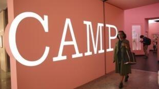 """L'exposition """"Camp: Notes on Fashion"""" au Metropolitan Museum of Art de New York le 6 mai 2019"""