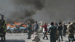 Des dizaines de personnes ont péri dans l'attentat au camion piégé qui a secoué tôt mercredi Kaboul.
