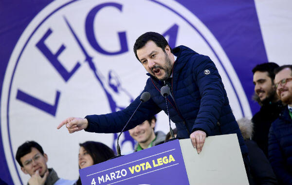 Lega leader Matteo Salvini has trumped Silvio Berlusconi as the dominant force on the right.