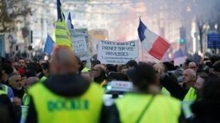 """تجمع لمتظاهري """"السترات الصفراء"""" بباريس السبت 15 ديسمبر/كانون الأول"""