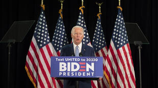 Joe Biden describes his campaign as 'the battle for the soul of this nation'