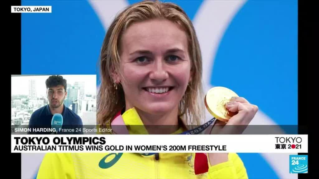 2021-07-28 09:11 Tokyo Olympics: Britain win gold in swimming relay, exhausted Titmus seizes 200m crown