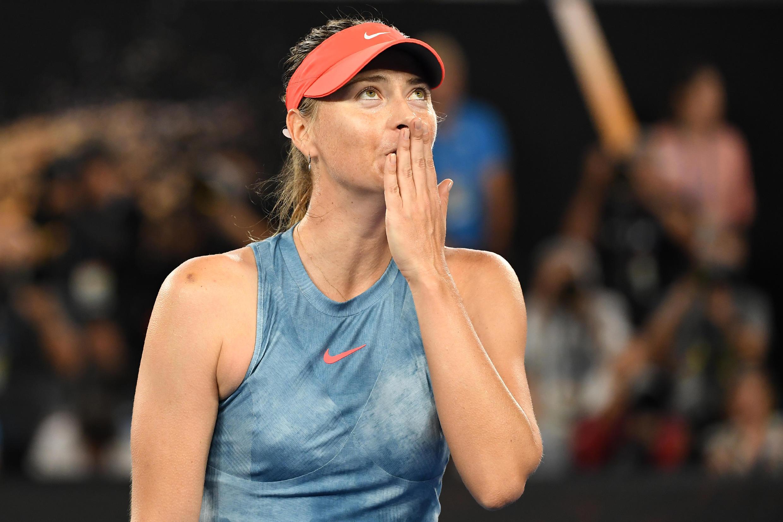 Maria Sharapova tennis retraite