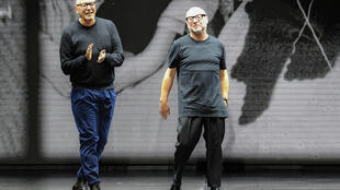 Designers Domenico Dolce (R) and Stefano Gabbana returned to the Italian Fashion Chamber and the official calendar after more than 10 years