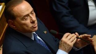Silvio Berlusconi, ancien président du Conseil italien