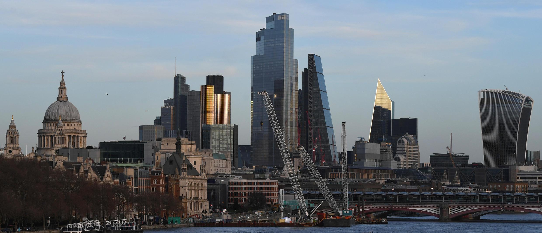 El sector financiero de Reino Unido, que se concentra en la City de Londres, aún dabe fijar pautas de relación con la UE.