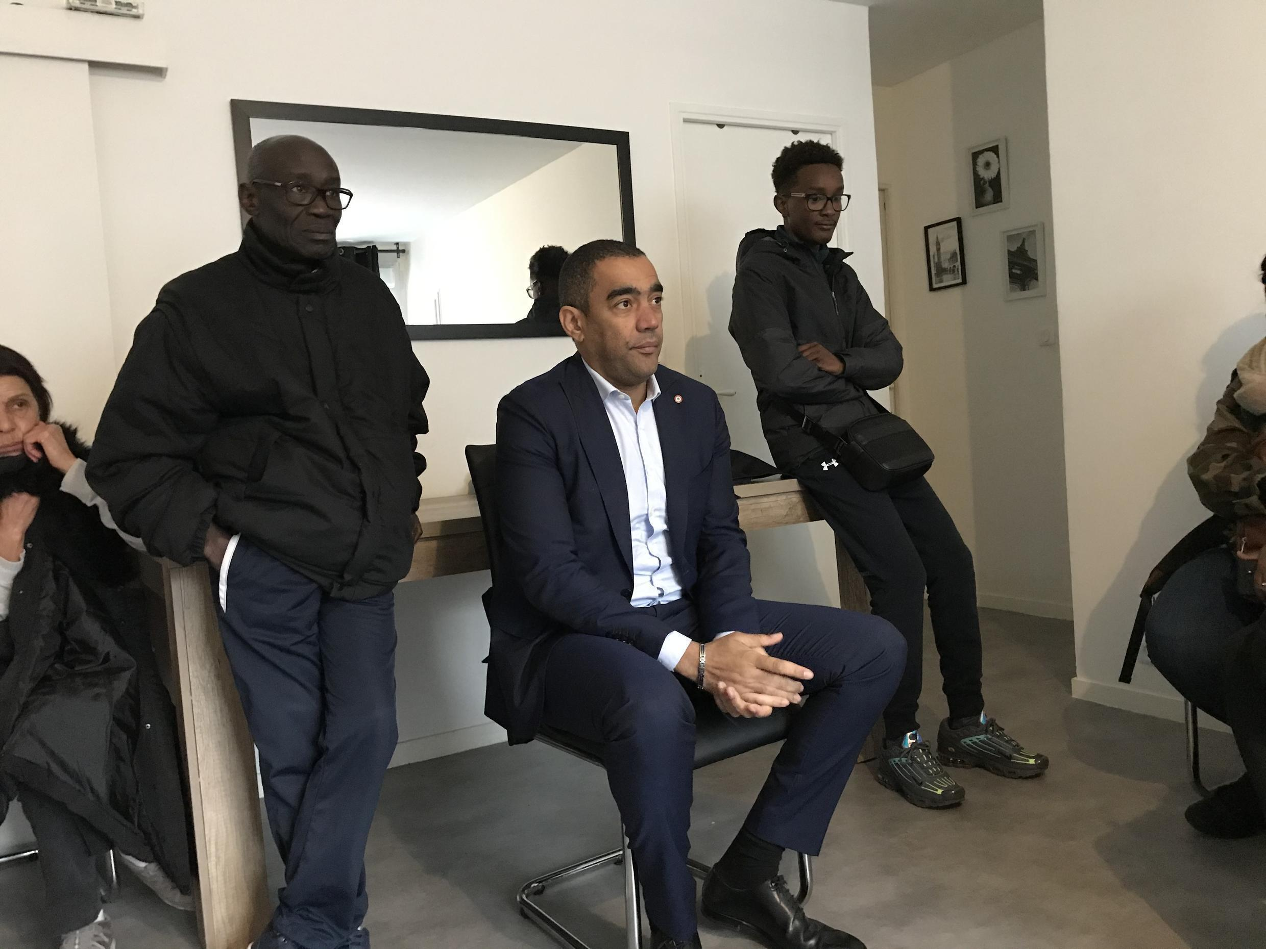 Saïd Ahamada, the candidate for France's ruling LREM party, acknowledges that residents of Marseille's northern districts have been discriminated again.