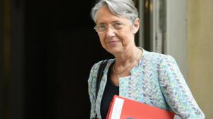 Elisabeth Borne le 17 juillet 2020 à Matignon