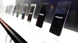 """Le fabricant de téléphone mobile coréen est attaqué pour """"pratiques commerciales trompeuses""""."""