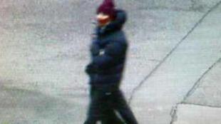 Photo diffusée par la police danoise montrant l'auteur présumé des fusillades de Copenhague.