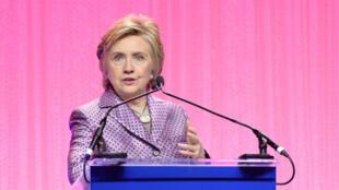 المرشحة السابقة في انتخابات الرئاسة الأمريكية هيلاري كلينتون