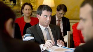Le Premier ministre lors du comité interministériel qui s'est tenu le vendredi 6 mars à Matignon.