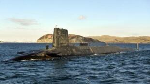 """الغواصة النووية """"إتش إم إس"""" فيكتوريوس قبالة سواحل إسكتلندا"""