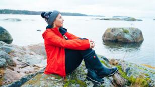 Kristina Roth, la fondatrice de l'île-hôtel SuperShe réservée aux femmes en Finlande.