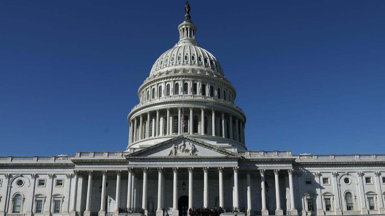 Imagen de archivo del Capitolio de Estados Unidos, en Washington, EE. UU.