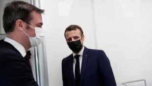 Véran Macron Bobigny