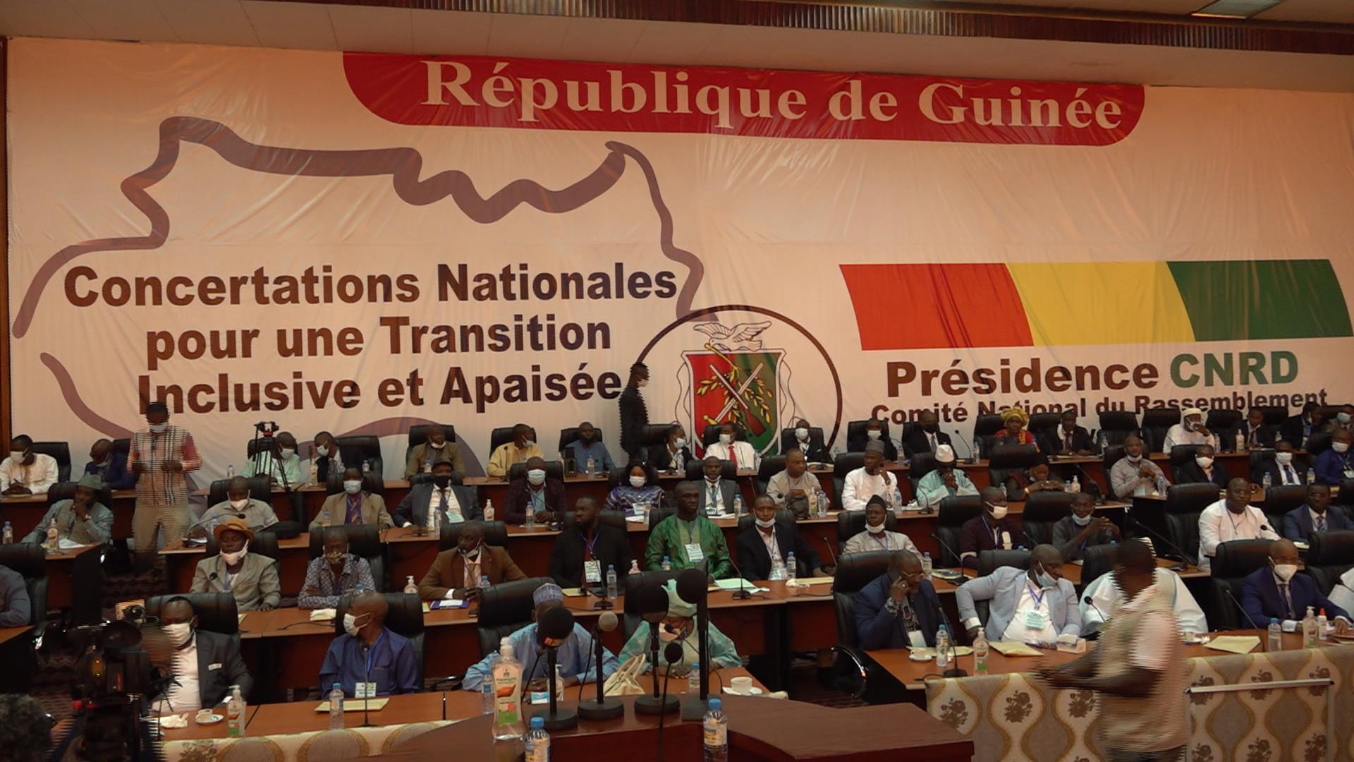 Concertations nationales en Guinée