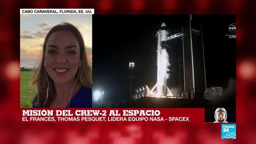 2021-04-23 13:03 Informe desde Cabo Cañaveral: La Crew-2 ya está en órbita