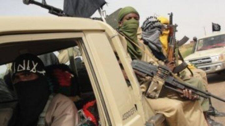 Combattants islamistes au Mali