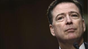 James Comey, exdirector del FBI, arremetió con fuerza contra el presidente de Estados Unidos, Donald Trump, que lo despidió de su cargo en abril de 2017 cuando lideraba la investigación del 'Rusiagate' (Imagen de archivo).
