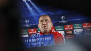 L'entraîneur de l'AS Monaco Leonardo Jardim.