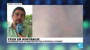 2019-12-30 06:37 Incendies en Australie : Malgré la pétition, Sydney maintient son traditionnel feu d'artifices