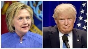 الجمهوري دونالد ترامب والديمقراطية هيلاري كلينتون مرشحا الانتخابات الرئاسية الأمريكية