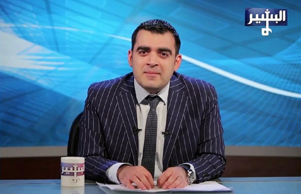 """مقدم برنامج """"البشير شو"""" أحمد البشير"""