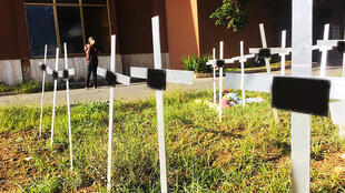 he discovery of the named graves last month by a woman who had undergone an abortion provoked outrage from women's rights groups and the women involved
