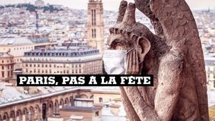 Paris, pas a la fete