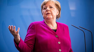 German Chancellor Angela Merkel  has urged caution and slammed growing impatience to shake off the curbs on public life