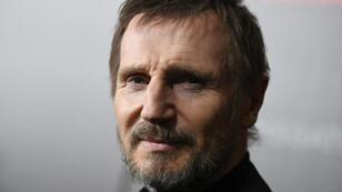 El actor Liam Neeson acude al estreno de la película 'The Commuter' en Nueva York, Estados Unidos. 8 de enero de 2018.