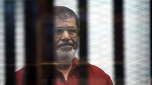 الرئيس المصري الأسبق محمد مرسي 21 حزيران/يونيو 2015