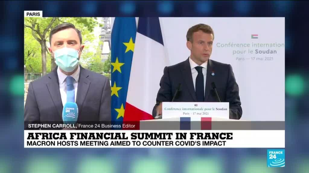 2021-05-18 12:02 Macron hosts summit on financing Africa's post-pandemic recovery