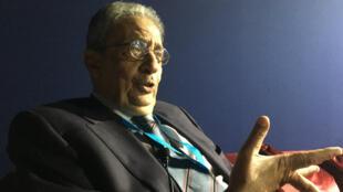L'ancien président de la Ligue arabe Amr Moussa est présent au 10e Forum MEDay à Tanger, au Maroc.